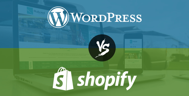 WordPress and Shopify